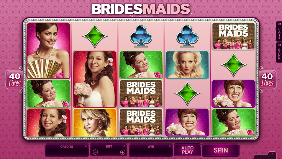 Bridesmaids ™ Slot Will Have You Laughing The Way To The Bank